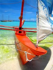 Boracay Summer Colors (p@ragon) Tags: beach sailboat island paradise philippines vivid boracay paragon paraw summer2007 vividmasters flickrslegend