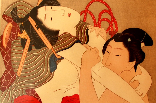 Love in Ukiyo-e