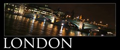 London postcard (sazztastical) Tags: bridge reflection london thames night reflections lights postcard riverthames cwd cwdgs tacwdd cwd153 cwd15 cwdgs15