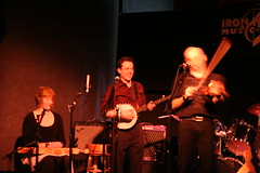 Peter Irvine on banjo! (wmshc_kiwi) Tags: ironhorse timeriksen cordeliasdad