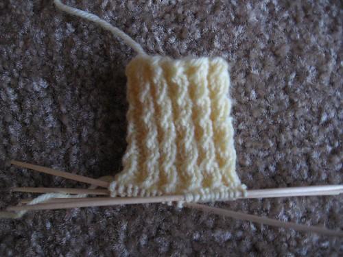 baby sock cuff