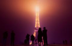 Eiffel power (stusea) Tags: paris tower eiffel romance questfortherest stuseaphotos stuartcarroll mobformat09filmnoir mobformat09suspense