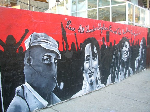 Freedom Fighters Mural in Wicker Park
