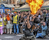Purifying fire (Paco CT) Tags: celebracionsijnacimientodelgurunanak event evento fuego gente motif people sikhcelebrationbirthofgurunanak fire barcelona spain esp streetphotography celebration street lasramblas outdoor group many pacoct 2016