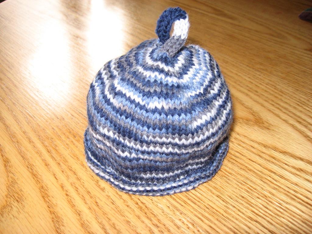 Handle baby hat