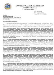 carta ministro cna arica camarones 1