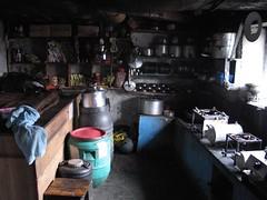 Homestyle cookin' on the trek... (rikkiandmatt) Tags: nepal kitchen annapurnabasecamp