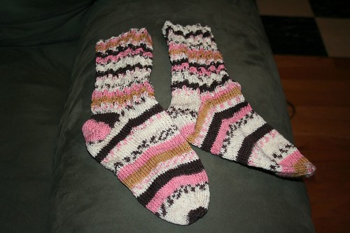 Finished Socks, Trekking #126