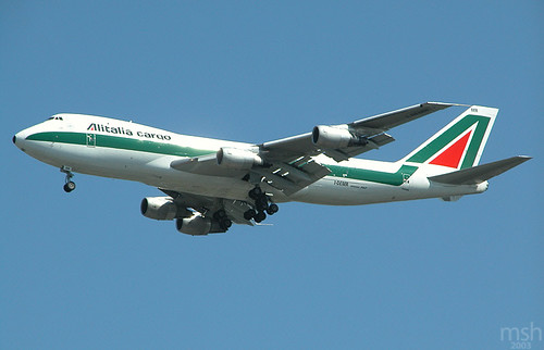 Alitalia Cargo 747-200F by matt.hintsa.
