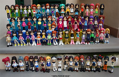 Group shot ^^ (Inoue_Orihime) Tags: street cute toy japanese doll pinky kawaii pinkyst pinkystreet groupshot vynil vanceproject jfigure baysue fotodivertenti