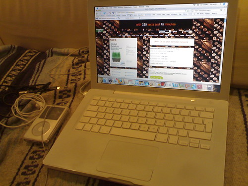 My MacBook and iPod on Myspace