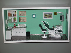 Dentista 2 (dmmalva) Tags: scale miniatures miniature model box handmade models dental caja handcrafted dentist dentistry miniatura dioramas dentista miniaturas odontologa roomboxes misfavoritosinvitacin scientificminiatures