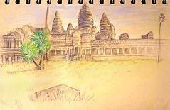 Angkor Wat west entrance