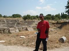 Di Runtuhan Kota Troy, Canakkale, Turkey