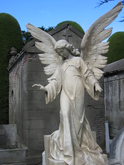 Angel statue in Punta Arenas