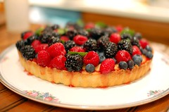 Meant To Be Dinner: Berry Tart