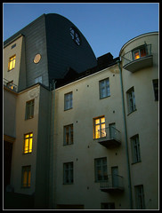 ... it's getting dark ([ Petri ]) Tags: finland evening twilight helsinki dusk sispiha