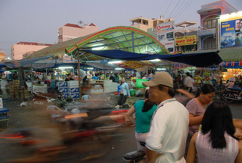 Phan Thiet Market before Tet