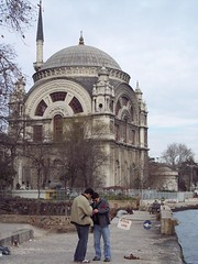 Dolmabahçe Camisi (.-*Sarah*-.) Tags: turkey türkiye istanbul mosque cami İstanbul turkije beşiktaş dolmabahçe camisi