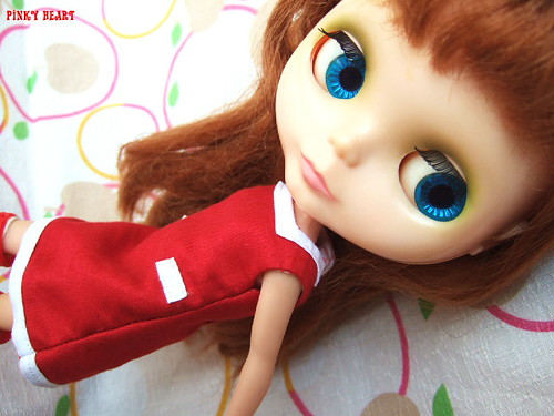 Square-neck dress by kana*.