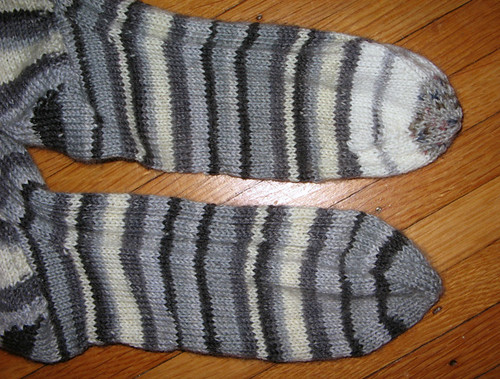 Yarrow Rib Socks