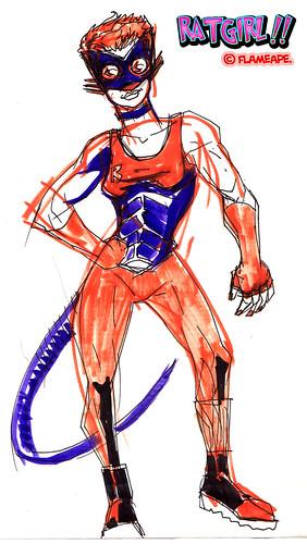 ratgirl original concept