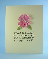 Plant the Seed of Friendship Note Card