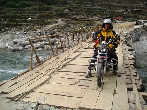 Bridge Over The Mardi Khola