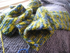 My so-called scarf in Malabrigo
