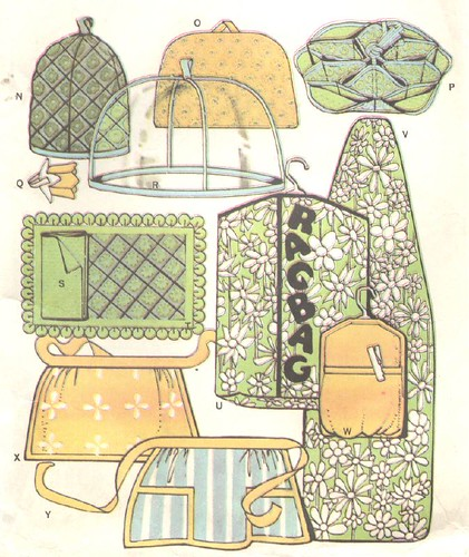More accessories, and simple aprons, 1967