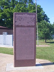 Healdton, OK First Regulated Oil Field Monument