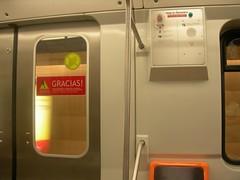 (csaavedra) Tags: chile santiago publictransportation metro