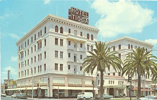 El Hotel Tioga en Puntarenas