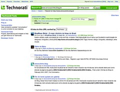 Technorati Ranking & Links