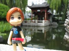 Nazuna at the garden