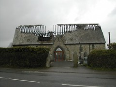 Callington Museum (burnt out)