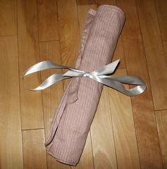 Knitting needle case - closed