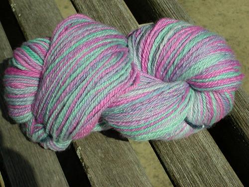 Handspun sock yarn!