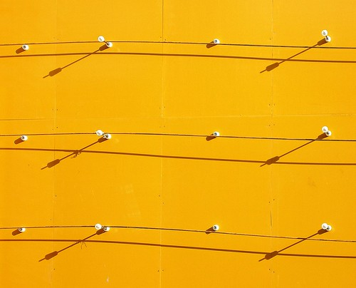 Abstract(Yellow wall 1)