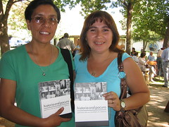 Gina and Paulina with new book