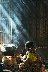 Smoking Light. [..Sirajganj, Bangladesh..] (Catch the dream) Tags: wedding light cooking ray smoke bongo cook bengal bangladesh bangla bengali bangladeshi bangali splendiferous catchthedream gettyimagesbangladeshq2
