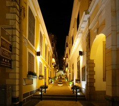 Macau - An Alley At Night (cnmark) Tags: china light fab building classic architecture night buildings geotagged noche alley nacht vivid loveit most senado da noite misericordia macau photographed largo nuit gebude notte breathtaking nachtaufnahme macao travessa  allrightsreserved travessadamisericordia aplusphoto favemegroup3 colourartaward platinumheartaward excapture diamondexcapture vanagram geo:lat=22193788 geo:lon=113539935 mygearandmepremium mygearandmebronze mygearandmesilver mygearandmegold mygearandmeplatinum dblringexcellence
