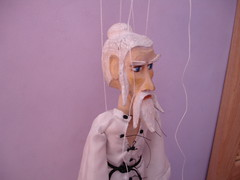 Kung Fu Master Marionette (marionettemaker) Tags: puppet kungfu marionette