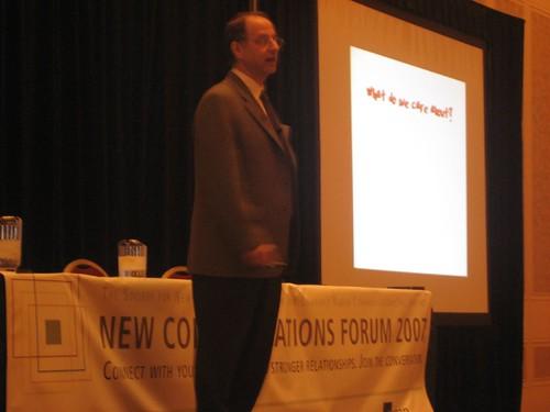 David Weinberger keynotes