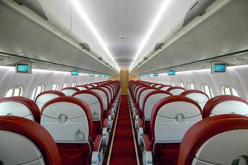 Kingfisher Airlines Interior Wallpapers