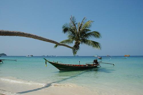 Ile de Ko Tao au sud de la Thailande dans le golf de Thailande à l'est