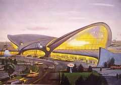 TWA Terminal, 1961 (Telstar Logistics) Tags: sanfrancisco architecture airport terminal airline saarinen twa barfbag baahs airlinecollectibles
