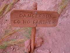 End of the trail? Here's your sign.