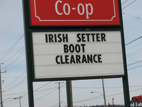 irish signs sign setter