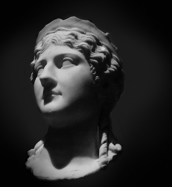 Imperial Rome Exhibit , Fernbank - Agrippina the Elder or Antonia the Younger